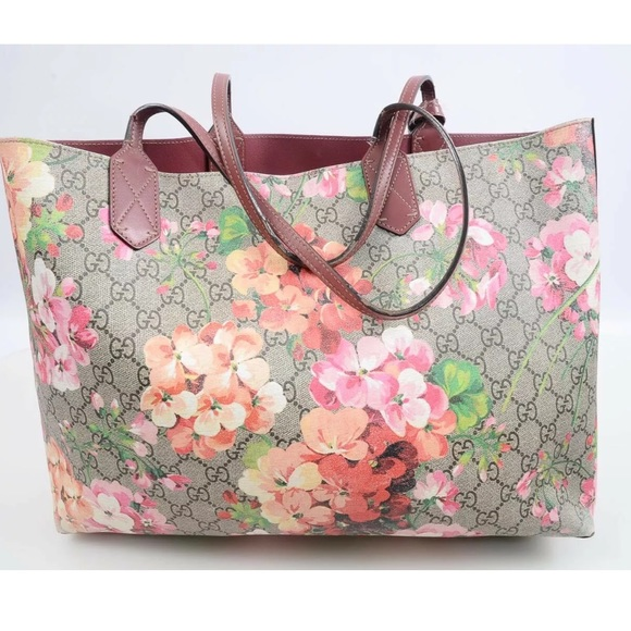 ed9c0e61f Gucci Bags | Gg Bloom Reversible Rose Signature Tote | Poshmark